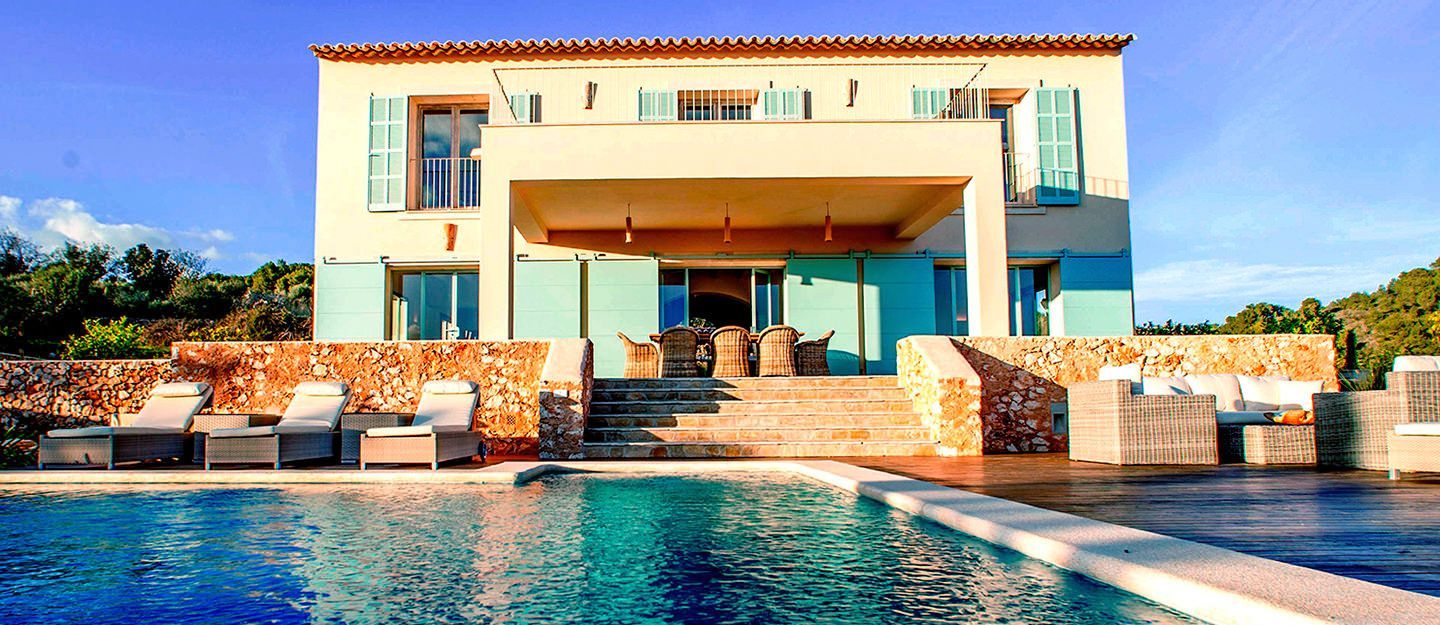 Beautiful dream villas in Majorca