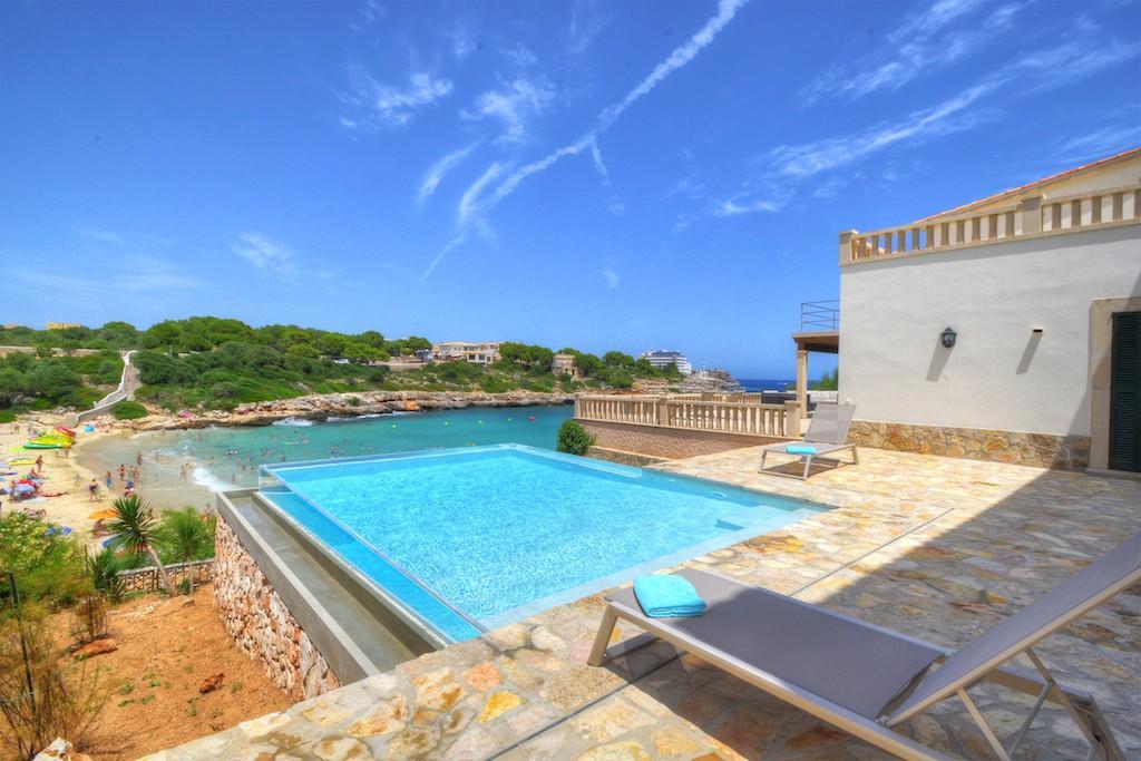Villa mit Meerblick Portocolom Mallorca